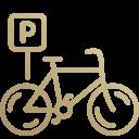 pomieszczenie na rowery w podziemnym garażu